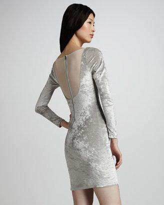 Alice + Olivia Tatum Velvet Dress