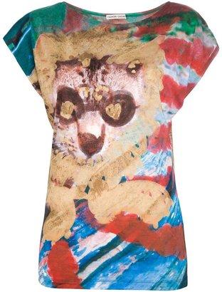 Tsumori Chisato abstract print t-shirt