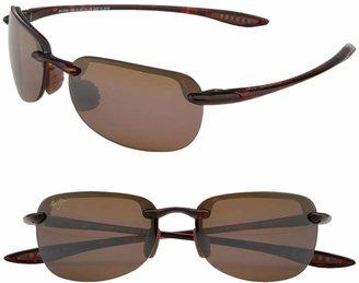 Maui Jim Sandy Beach 55mm PolarizedPlus2(R) Semi Rimless Sunglasses