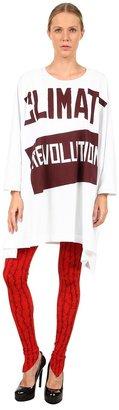Vivienne Westwood Vivienne Weswood Anglomania Climae Revoluion Elephan Tee Women's T Shir