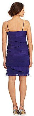 S.L. Fashions Tiered Bolero Jacket Dress