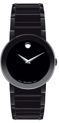 Movado PVD-Finished Stainless Steel Bracelet Watch