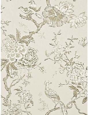 GP & J Baker Oriental Bird Wallpaper