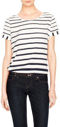 The Limited Engineered Stripe Top