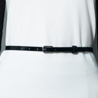 Ralph Lauren Color-Blocked Belted Top