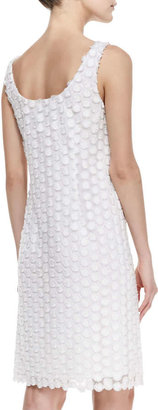 Laundry by Shelli Segal Sleeveless Mesh Cocktail Dress