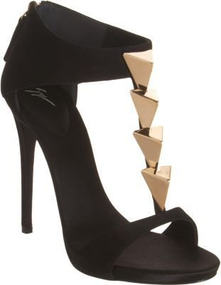 Giuseppe Zanotti Pyramid-Studded T-Strap Sandal