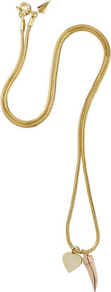 Rebecca Minkoff Heart & Horn Necklace