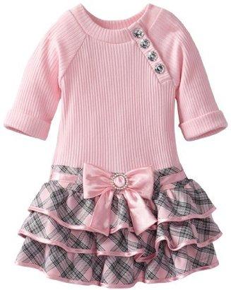 Youngland Girls 2-6X 3/4 Sleeve Knit ...