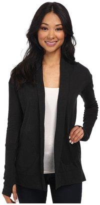 Alternative - Eco Jersey Rib Sleeve Wrap Women's Sweater $48 thestylecure.com