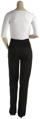 Olian Career Pants - Black-Black-X-Large