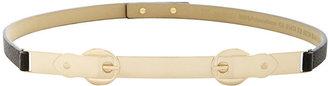BCBGMAXAZRIA Double-Buckle Waist Belt