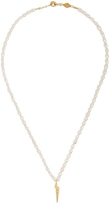 Anni Lu Turret Pearl Beaded Necklace