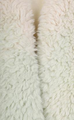 Vika Gazinskaya Faux Fur Degrade Waistcoat