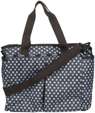 Le Sport Sac Ryan Baby Bag - Aqua Dot
