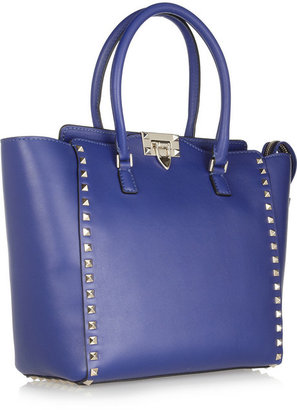 Valentino The Rockstud leather trapeze bag