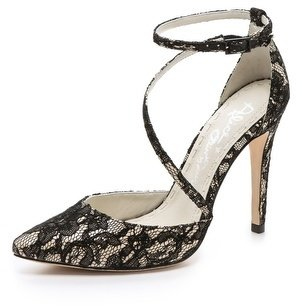 Alice + Olivia Delia L Lace Pumps