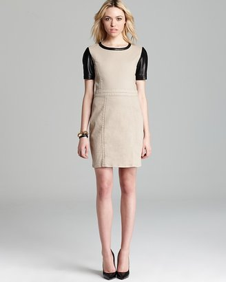 Marc by Marc Jacobs Dress - Dempsey Drill Leather Sleeve