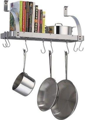 Enclume Bookshelf Pot Rack