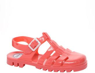 JuJu Maxi Coral Slingback Flat Shoes