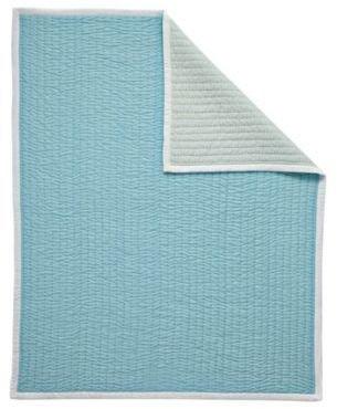Mini Cabin Quilt Aqua