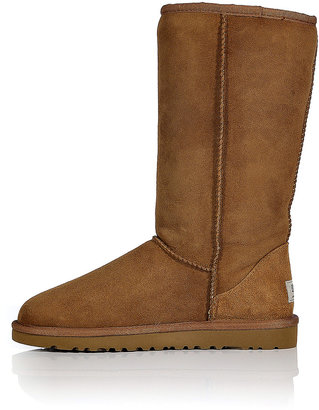 UGG Leather Classic Tall Boots in Chestnut