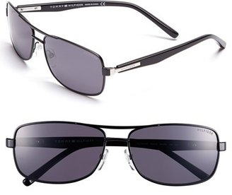 Tommy Hilfiger 60mm Polarized Navigator Sunglasses
