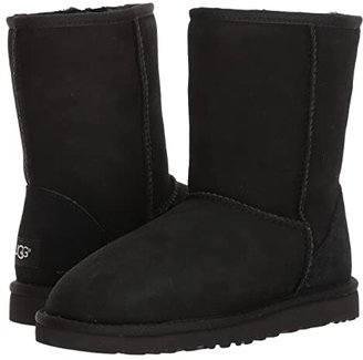 UGG Classic Short (Black) Men's Pull-on Boots