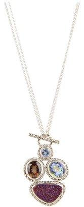 Judith Jack 60168525 Moorea 18/36 Necklace (Multi) - Jewelry