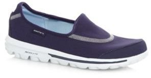Skechers Navy 'GOwalk Original' washable slip on shoes