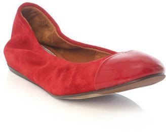 Lanvin Patent-toe ballet flats