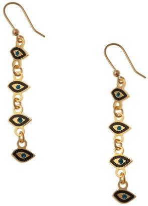 Maria Francesca Pepe Eye Charm Earring