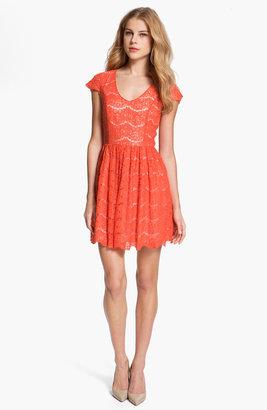 Kensie Floral Lace Dress
