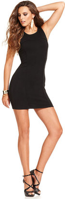GUESS Dress, Sleeveless Scoop-Neck Mini