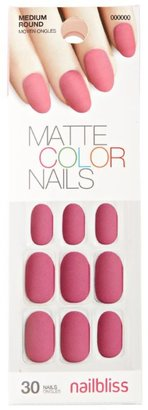 Nail Bliss Matte Gel Velvet Raspberry Nail Kit $8.29 thestylecure.com