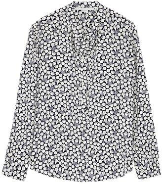 Stella McCartney Eva Printed Silk Blouse