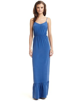 Twelfth St. By Cynthia Vincent by Cynthia Vincent Tiered Silk Maxi Dress