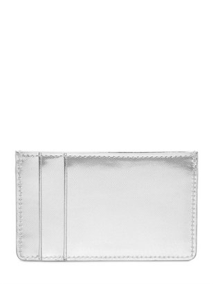 Alexander McQueen Glow Web Leather Credit Card Holder