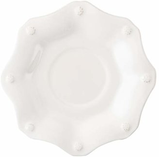 Juliska Berry & Thread Whitewash Scallop Saucer