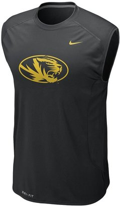 Nike missouri tigers speed fly dri-fit sleeveless tee