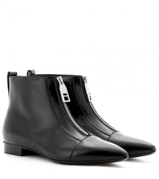 Burberry Boron leather ankle boots
