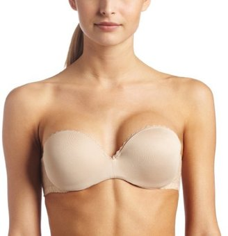 Lily of France Women's Gel Touch Strapless Push Up Bra 2111121 $36 thestylecure.com