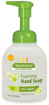 BabyGanics The Germinator™ Alcohol-Free Foaming Hand Sanitizer - Green Apple