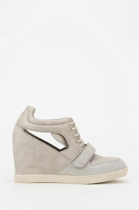 Urban Outfitters Deena & Ozzy Cutout Hidden Wedge High-Top Sneaker