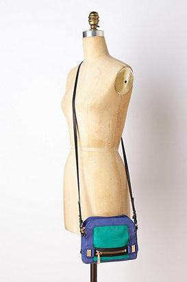 Anthropologie Mairi Colorblock Crossbody Bag