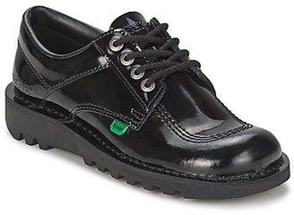 Kickers KICK LO women's Smart / Formal Shoes in Black