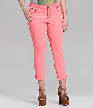 Jessica Simpson Woman Forever Roll-Cuff Jeans
