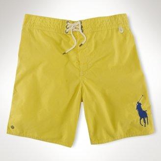 """Polo Ralph Lauren Sanibel 8"""" Solid Swim Trunk"""