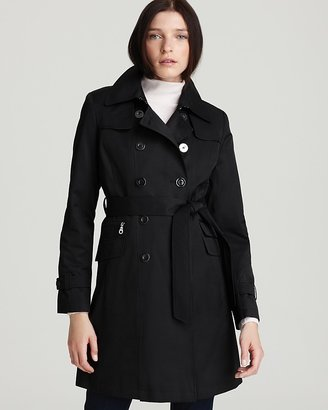 DKNY Rachel Double Breasted Trench
