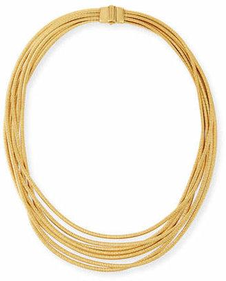 Marco Bicego Cairo 18k Seven-Strand Necklace